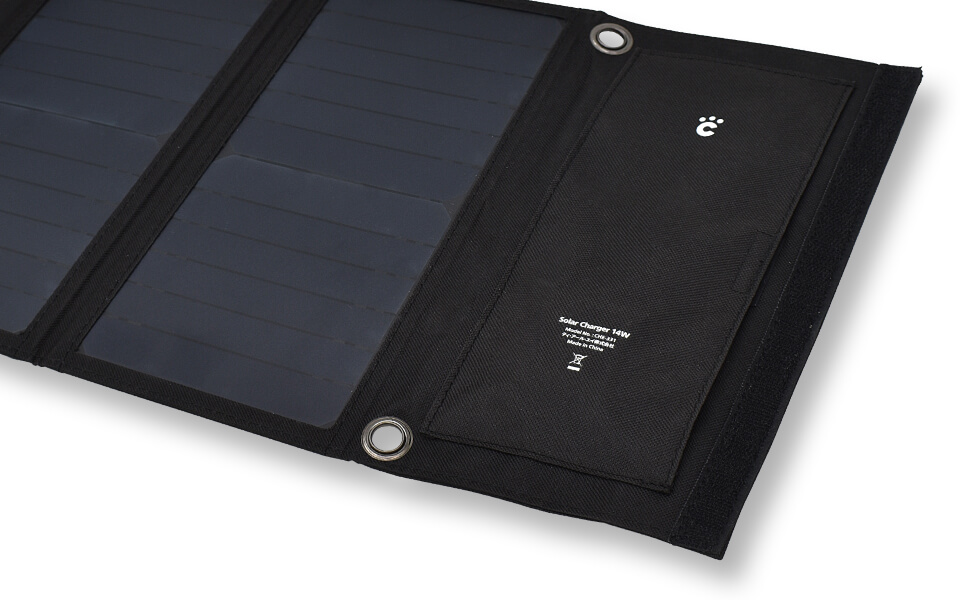 cheero Solar Charger 14W