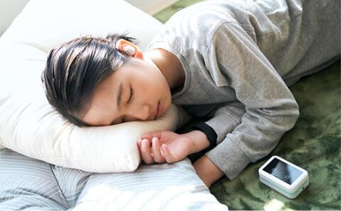 いつでもどこでも快適な睡眠を